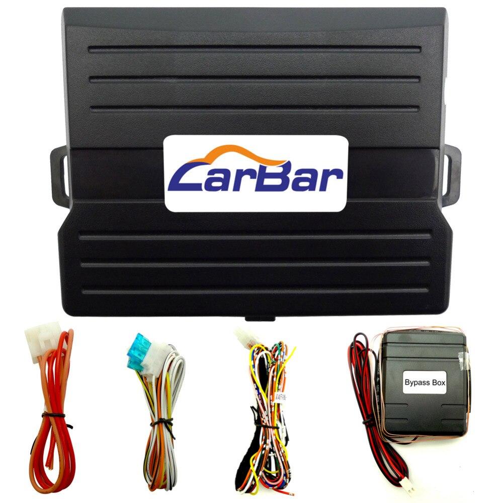Alarme de voiture pour véhicule IOS Android suivi GPS GSM télécommande d'origine téléphone App démarrage arrêt moteur verrouillage Central automatiquement