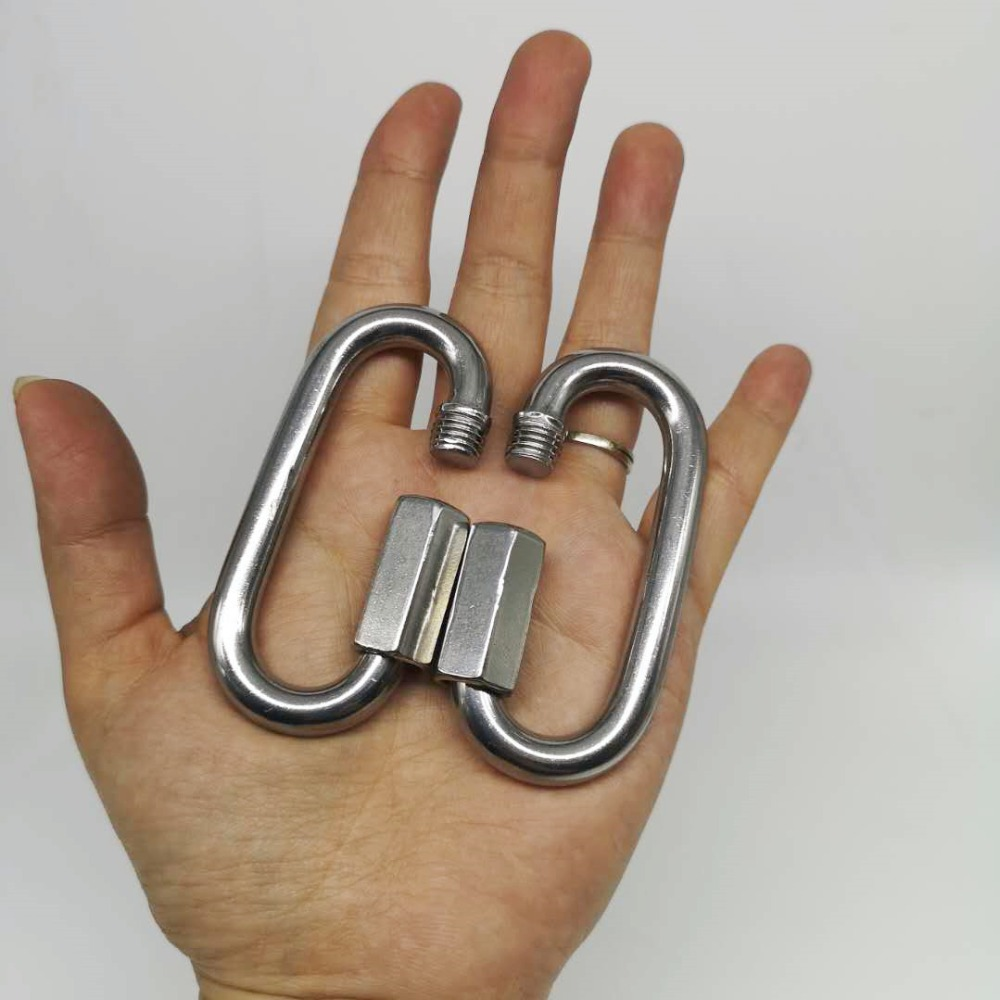5pcs M8 Stainless Steel 304 Quick Link M8 Marine Grade Boating Or Rigging
