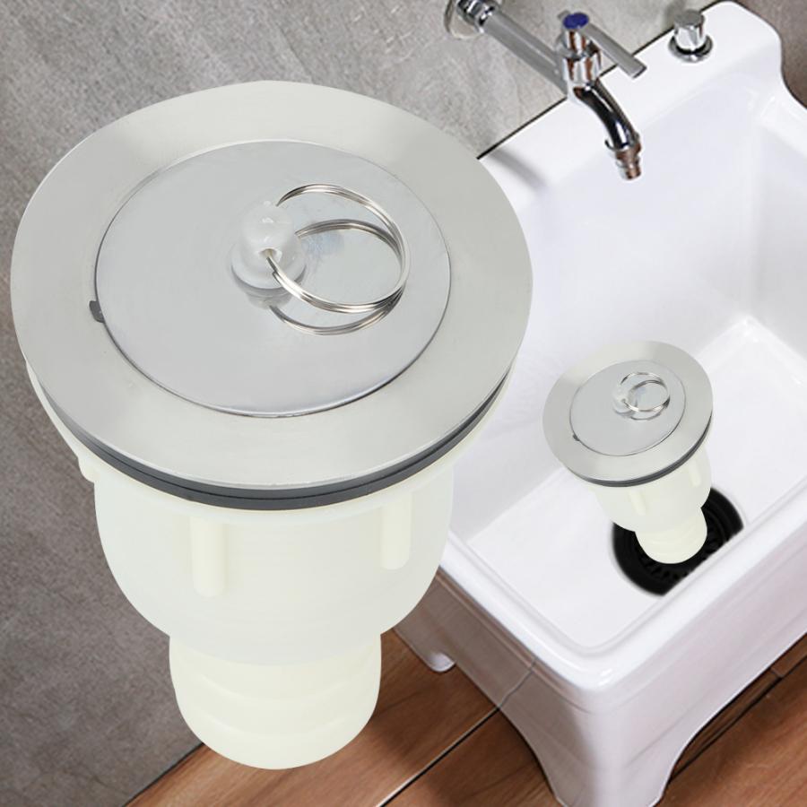 basin sink waste plug bathroom bath tub