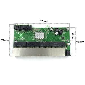 Image 2 - 8 포트 기가비트 스위치 모듈은 led 라인 8 포트 10/100/1000 m 접촉 포트 미니 스위치 모듈 pcba 마더 보드에 널리 사용됩니다.