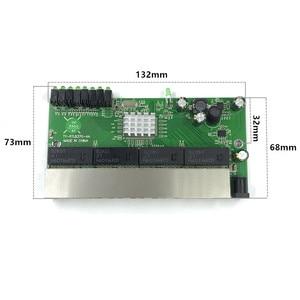 Image 2 - 8 port switch Gigabit modulo è ampiamente usato in LED linea 8 port 10/100/1000 m contatto porta mini modulo switch PCBA Scheda Madre