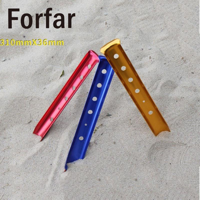 Forfar 31cm Aluminium Alloy Snow Tent Peg Tent nail Tent Stake Camping Equipment Fit Snowfield Camping Equipment Tent Building