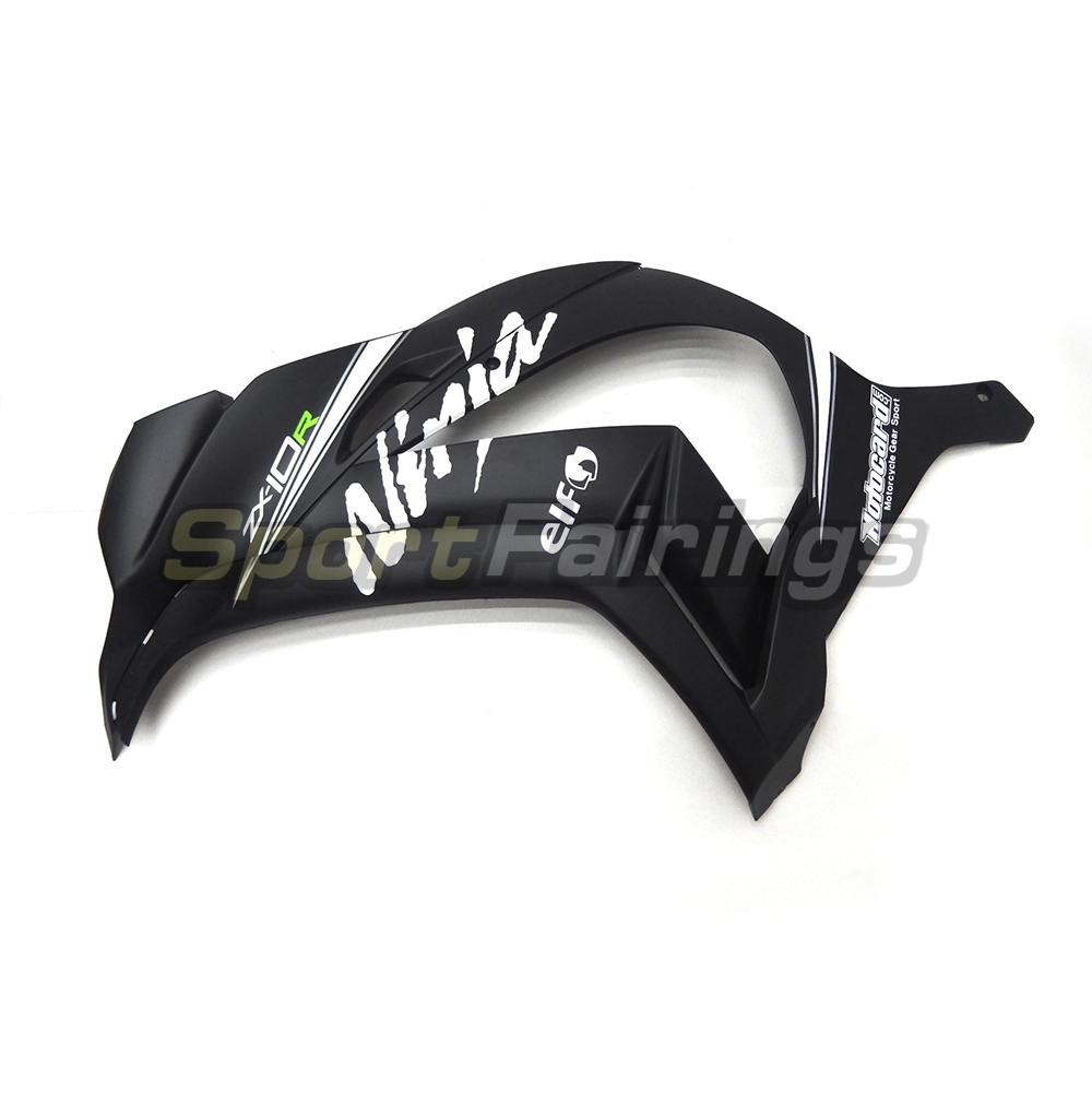 Full Injection Fairings For Kawasaki Ninja ZX10R 2016 Fairing Kits ZX 10R 16 Year Plastic Motorcycle Cowlings Black Matte New In Covers Ornamental