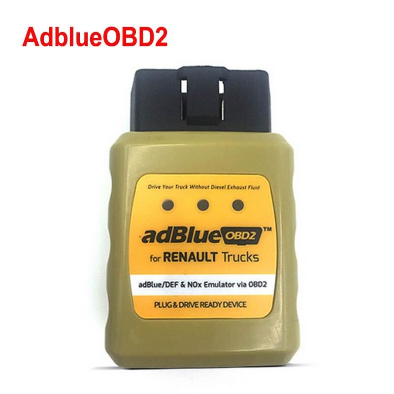 Nova Chegada Truck adblue Emulador para RENAULT AdblueOBD2/DEF Nox Adblue Emulador via OBD2 OBD2 para Renault Truck Adblue emulador