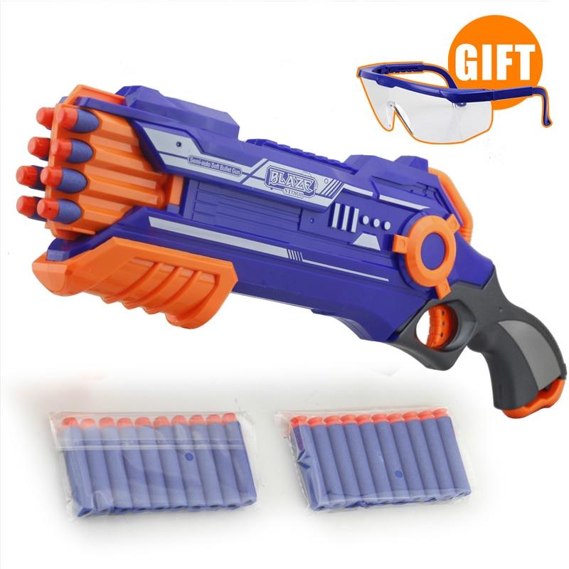 Manual Rifle font b Toy b font Gun Coolest Blue Airsoft Air Guns CS game Airsoft