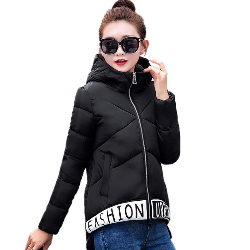 2016 New Women's Zipper Down Jacket Winter Coat Long Thick Hooded Winter Jacket Women Down Parka C445