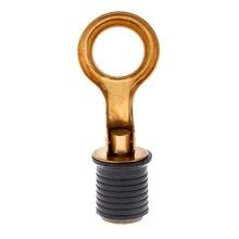 Boot Baitwell Snap Tite Lenzventil Ablauf Stecker Durable Messing Marine Hardware für 24mm Schlauch Boot Teile Zubehör