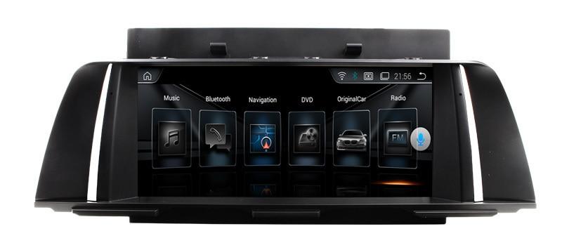 10.1 ''Quad Core Android 9.1 DVD de voiture pour BMW F10 F11 F07 2013 + avec Bluetooth 16GB Nand Flash 3G Wifi miroir lien carte GPS gratuite