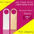 YUFANYF 2016 CALIENTE Unidades Flash USB 16 GB 32 GB 64 GB Pen Drive 256 GB Pen drive Flash de Memoria USB Stick 512 GB de Almacenamiento en Disco U USB 2.0