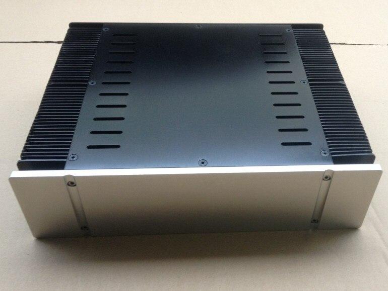 DIY AMP CASE 330*90*268mm 3390 Full aluminum Power amplifier chassis/Class-A Amplifier Chassis/AMP case Enclosure/ box DIY 2015 full aluminum chassis amplifier case for lm3886 power amp diy box