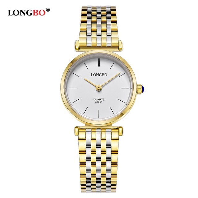 LONGBO Brand Fashion Luxury Couples Watches Business Style Lovers Men Women Wate
