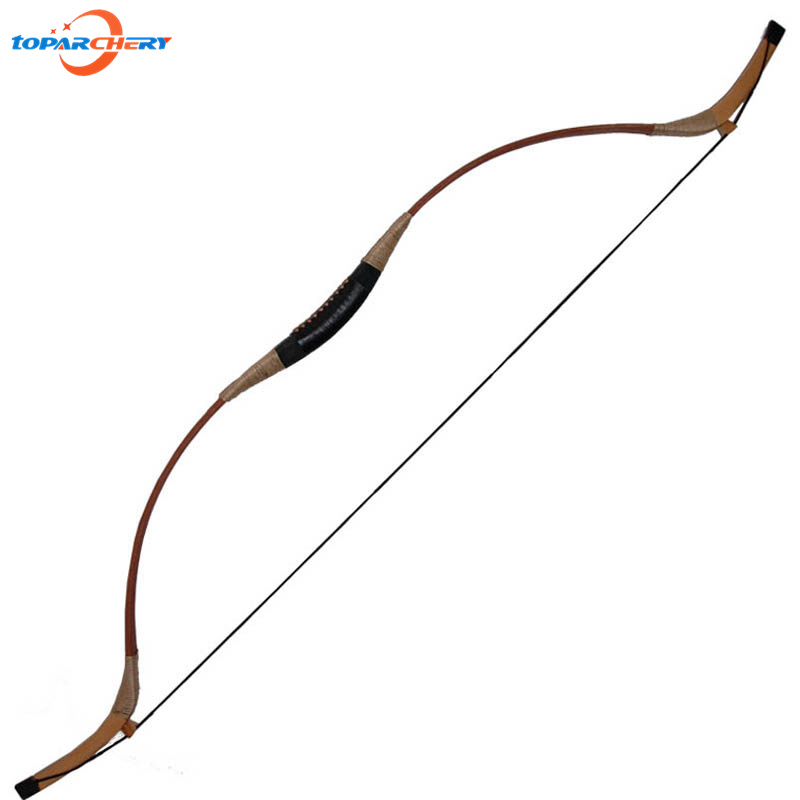 Traditional Handmade Recurve Bow 45lbs 50lbs for Fiberglass Bamboo Archery Arrows Hunting Target Shooting Sports Wooden Longbow 1 piece hotsale black snakeskin wooden recurve bow 45lbs archery hunting bow