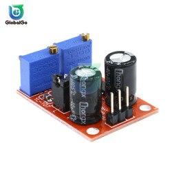 NE555 regulowana częstotliwość generator impulsów moduł silnik krokowy napęd zarząd na Arduino inteligentny samochód prostokątny sygnał sterowania