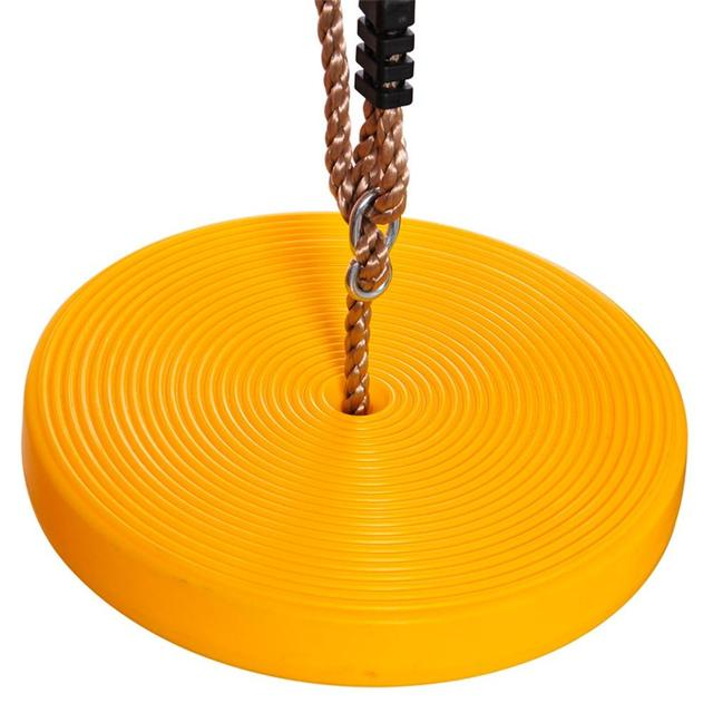 Leadingstar Children Round Disc Swing Seat Height Adjustable Plastic