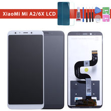 5.99 For Xiaomi Mi A2 MIA2 LCD Display Digitizer Touch Screen Replacement for xiaomi MI 6X MI6x Phone Parts