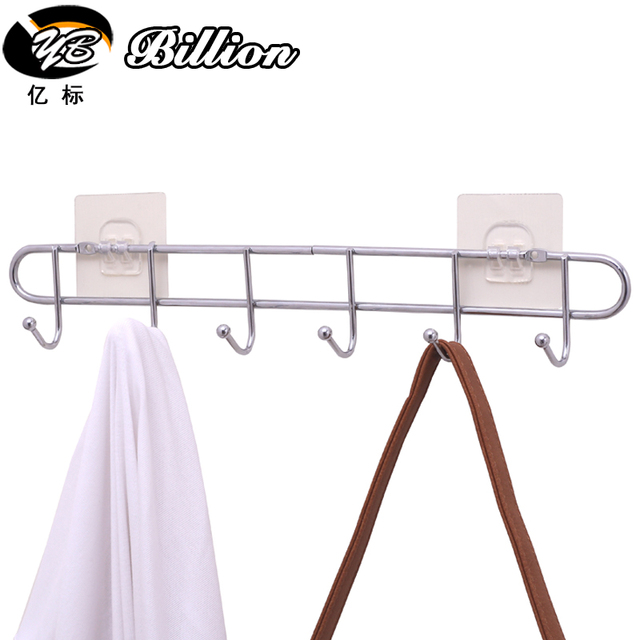 Beautiful Cheap Free Nail Coat Hangers Back Door Clothes Rack Bathroom Hanging  Organizer Kitchen Organizer
