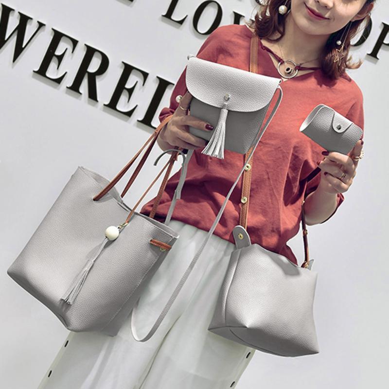 Dm Prime Fênix estilo de bolsas cinza com muita simplicidade
