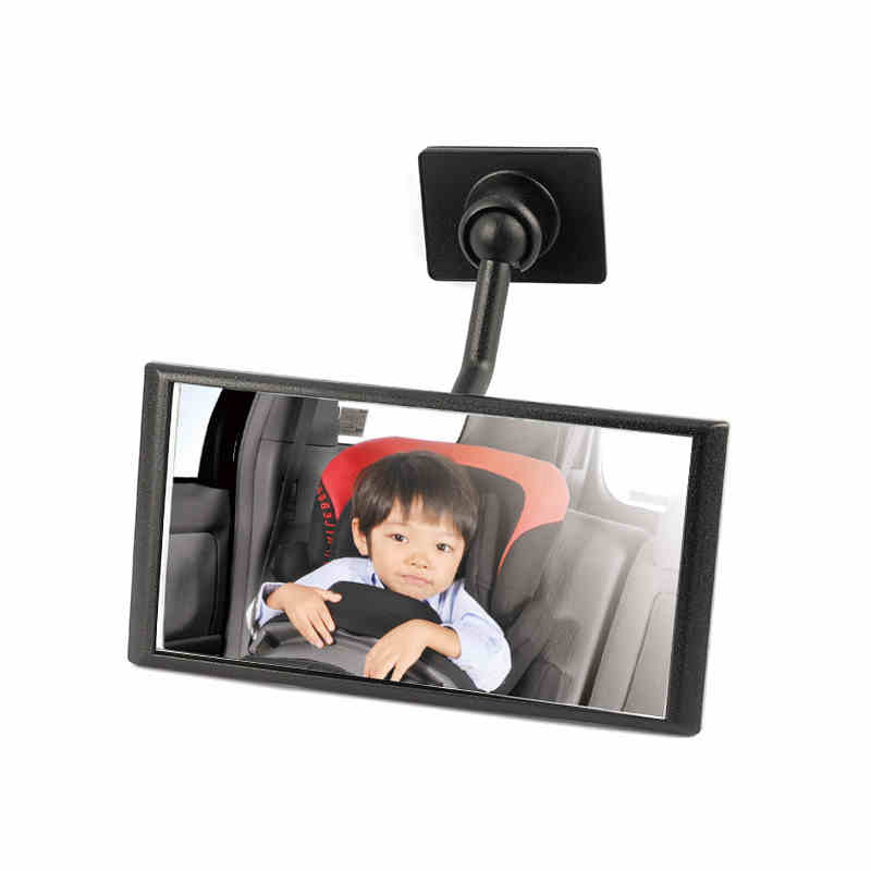 Car interior mirror Mini sub mirror Baby mirror Observe, take care of children on the rear seat
