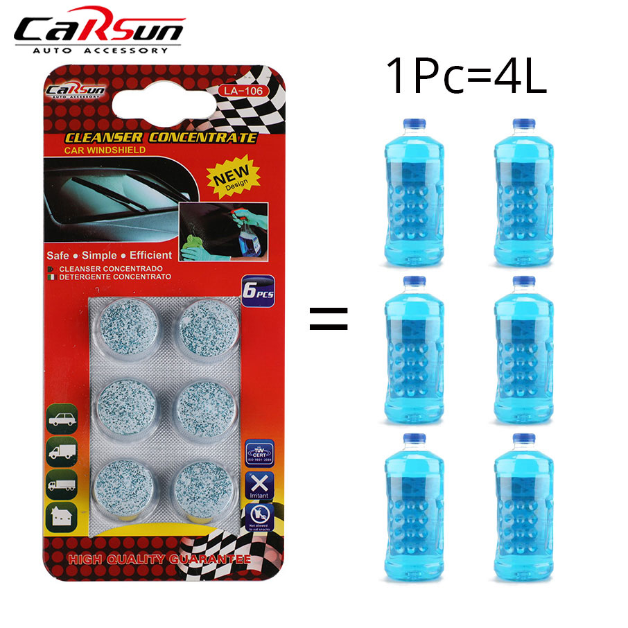 Effervescent-Cleaner Washer Tablets Windscreen Car-Solid-Wiper-Fine Auto 1-Pack Pills