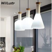 Willlustr magic bottle pendant lamp Modern Benjamin Hubert Labware suspension light Reproduction glass bottles hanging lighting