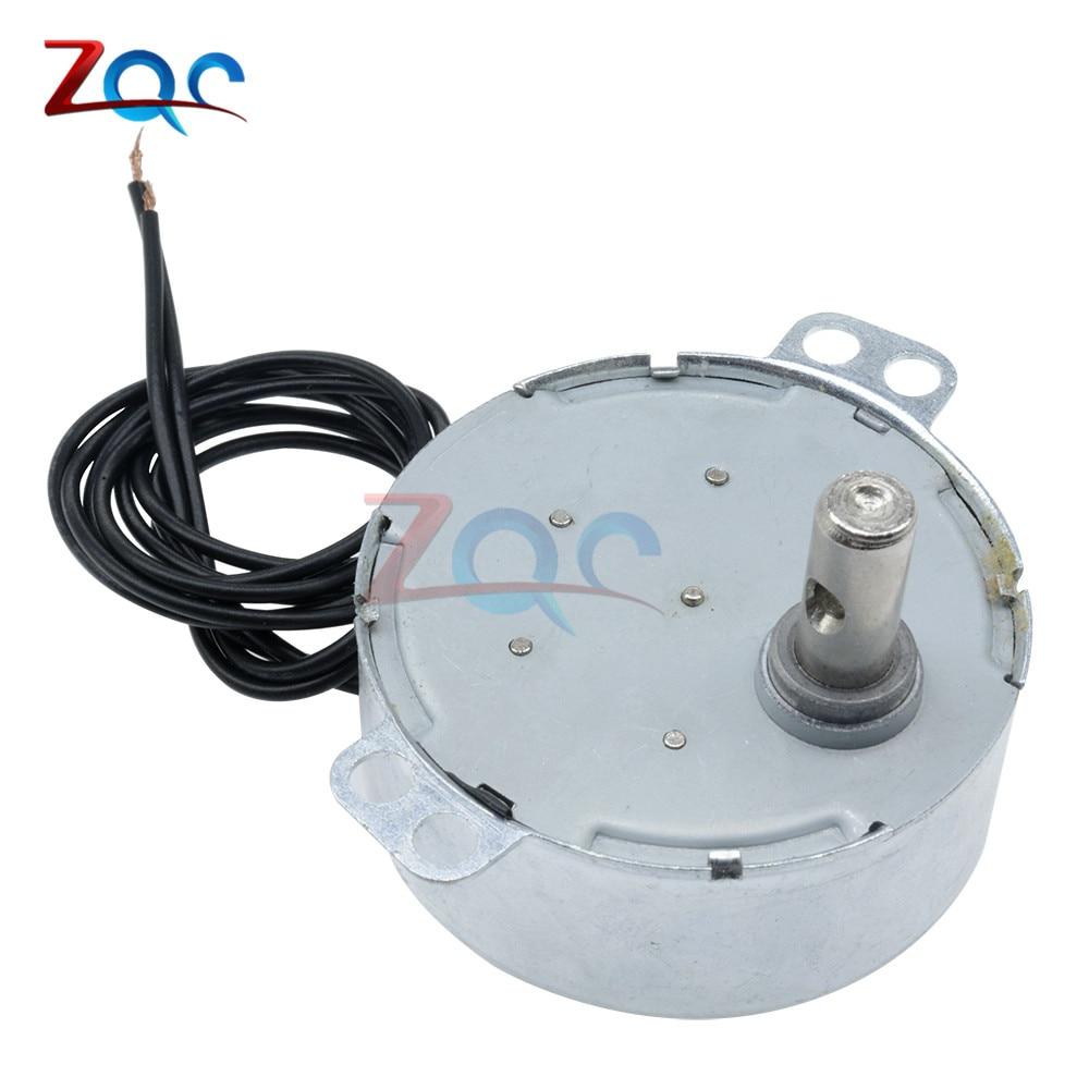 AC 220-240V 50/60Hz Synchronous Motor 5-6RPM Robust Torque 4W CW/CCW TYC-50