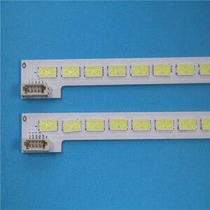"Image 3 - 2 sztuk/partia dla 46 ""LJ64 03495A LTA460HN05 46EL300C 46HL150C podświetlenie LED bar sanki 2012SGS46 7030L 64 REV1.0 64 diody LED 570MM"