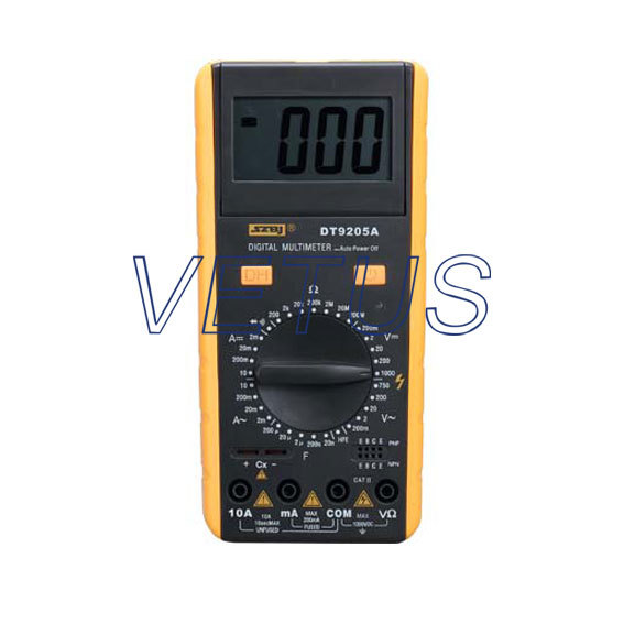 Free shipping Wholesale And Retail Digital Multimeter Excel DT9205A  free shipping wholesale and retail marble