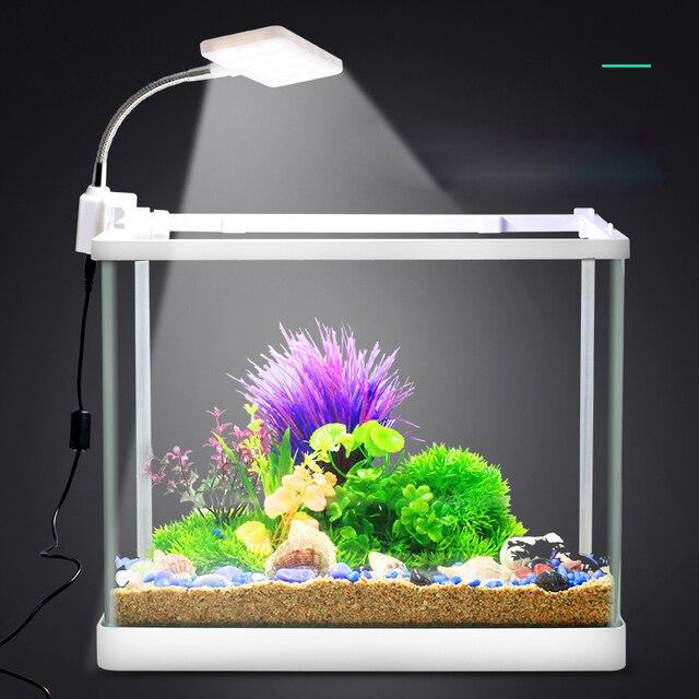 Us 1499 Nowe Oświetlenie Diodowe Do Akwarium Oświetlenie Roślin Rosną światła 25 W Oświetlenie Wodoodporna Clip On Lampy Roślin Wodnych Dla Ryb