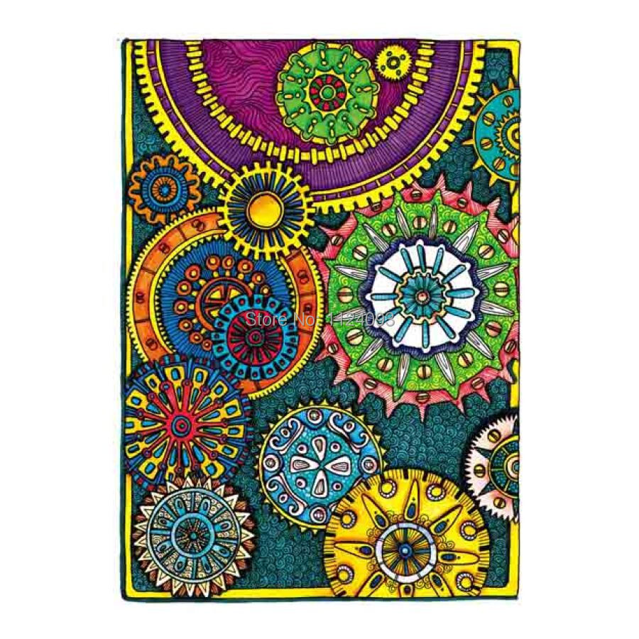 Color therapy anti stress coloring book app - This Series Book S Pictures Creative Haven Coloring Book