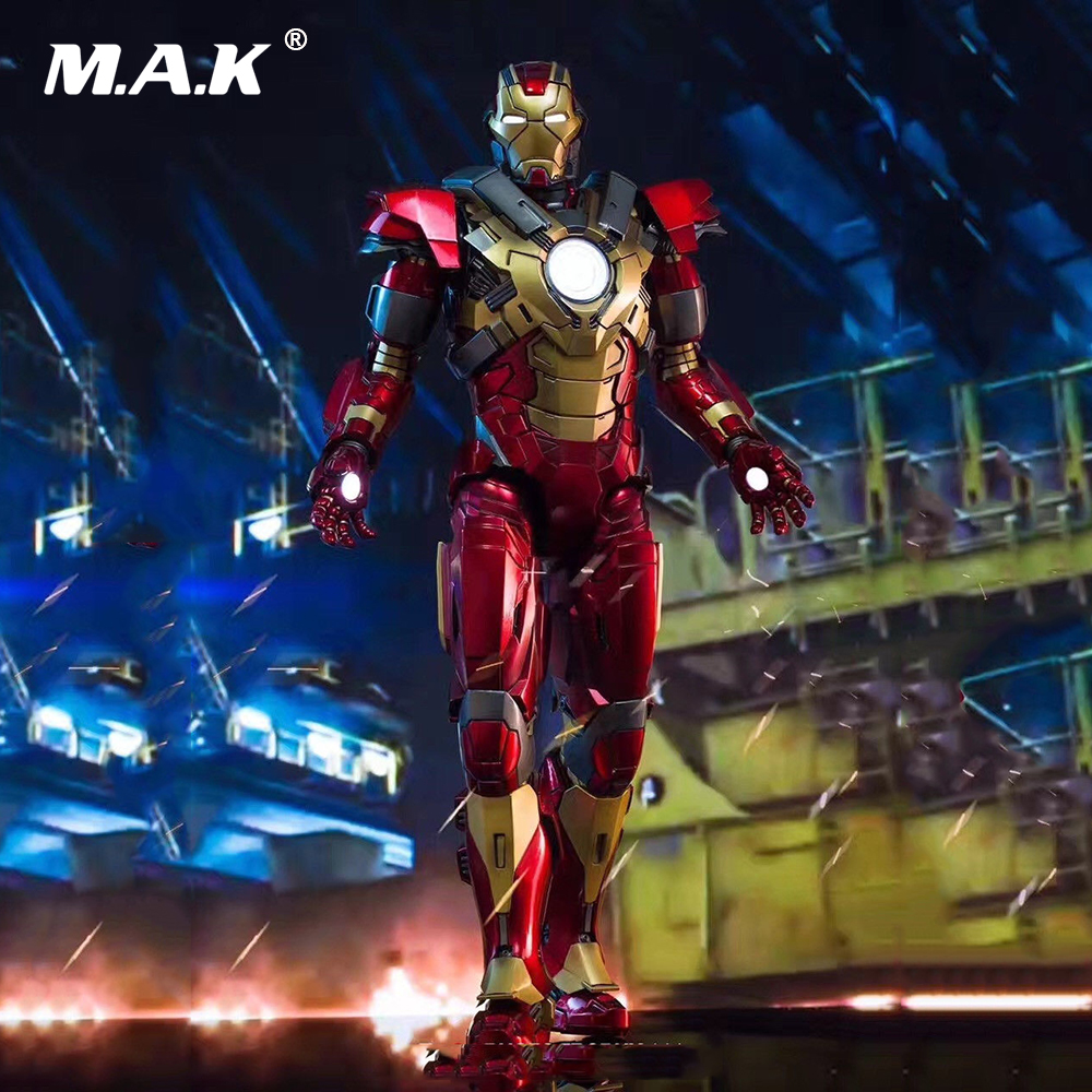 DFS007 1/9 Full Set Figure Series Iron Man 3 MK17 Heartbreaker Mark17 Diecast Action Figure Model Toys for Colelction Fans Gift диск replay lx51 7 5x18 6x139 et25 0 sil