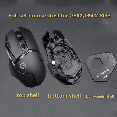 Original Mouse Accessories For Logitech G502/G502 RGB Edition Mouse Shell Mouse Counterweight Mouse Feet