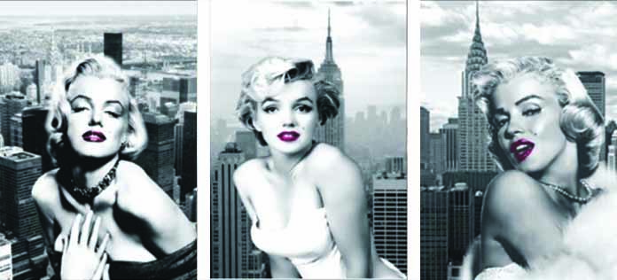 <font><b>3D</b></font> Flipping Pictures Holograms and Optical LENTICULAR Art 3in1 Marilyn monroe <font><b>sexy</b></font> Vintage <font><b>photo</b></font> image