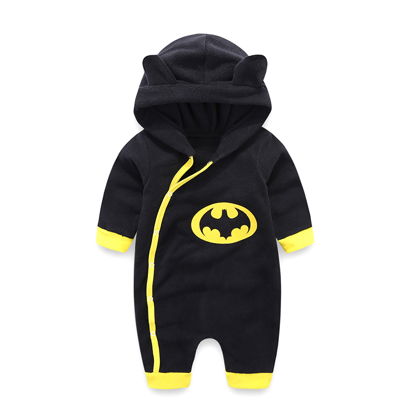 Newborn Baby Clothes Warm Baby Rompers Long Sleeve Baby Boy Clothing Autumn Winter Baby Boy Jumpsuit Roupas Bebes Infant Costume baby rompers cotton long sleeve 0 24m baby clothing for newborn baby captain clothes boys clothes ropa bebes jumpsuit custume