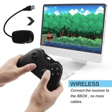 For XBOX ONE 2 4GHz Wireless Game Controller Game Pad Joystick for Xbox One Microsoft PC