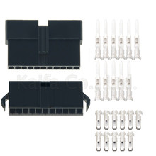 10 Sets JST 2.54mm SM 11Pin 11 Way Multipole Connector plug With ternimal male and female