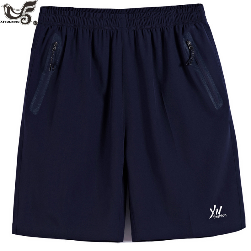 XIYOUNIAO plus size XL~10XL Summer Men's Quick Dry Shorts Casual Men Beach Shorts Breathable Trouser Male Shorts Brand Clothing