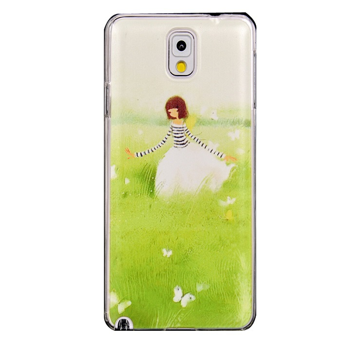 Cute Girl Fashion Luxury Cover Cell Phone Cases Samsung Galaxy Note III Note3 N9000 1 Piece - YPC Store store