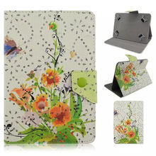 Fashion China  Floral PU case cover for chuwi hibook pro 10.1 tablet pc for chuwi hibook pro 10.1	case cover Universal case