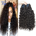 Brazilian Virgin Hair Water Wave Unprocessed Brazilian Water Wave Wet And Wavy Human Hair Natural Weave 4PCS Vip Beauty Hair