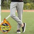 Pioneer Camp 2016 nova Moda basculadores mens engrosse velo outono inverno roupas de marca de qualidade calça casual sweatpants Hip hop