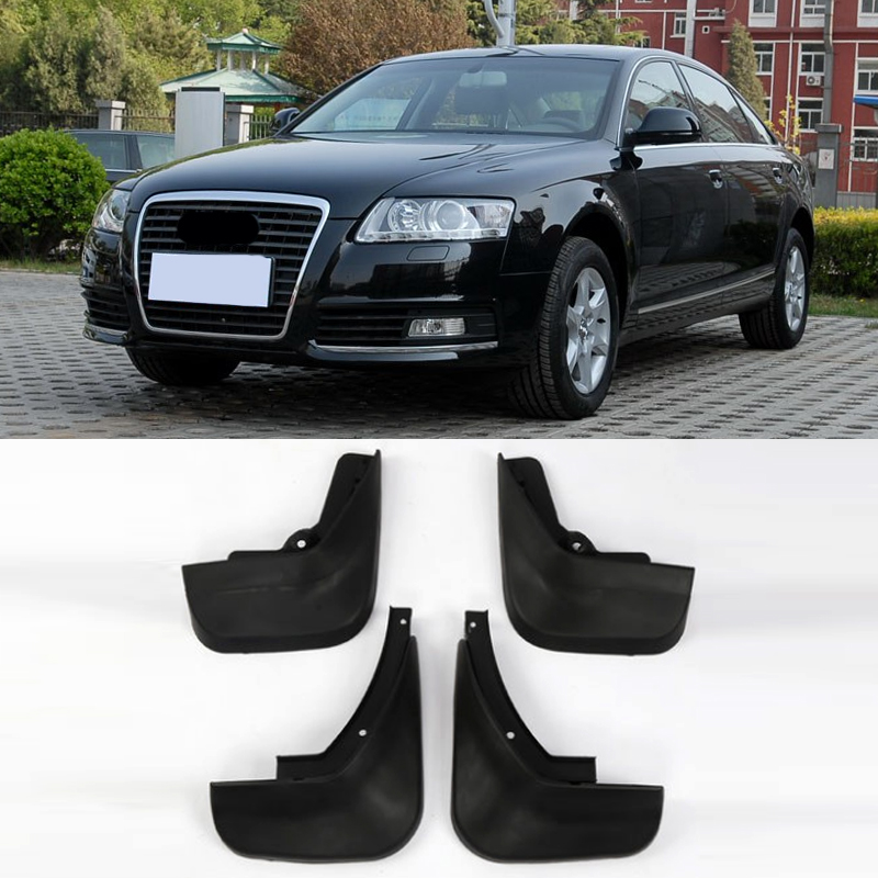 Front Rear Car Mud Flaps Splash Guard Protector Mudguard Replacement for A6 2006-2010 Car Accessories