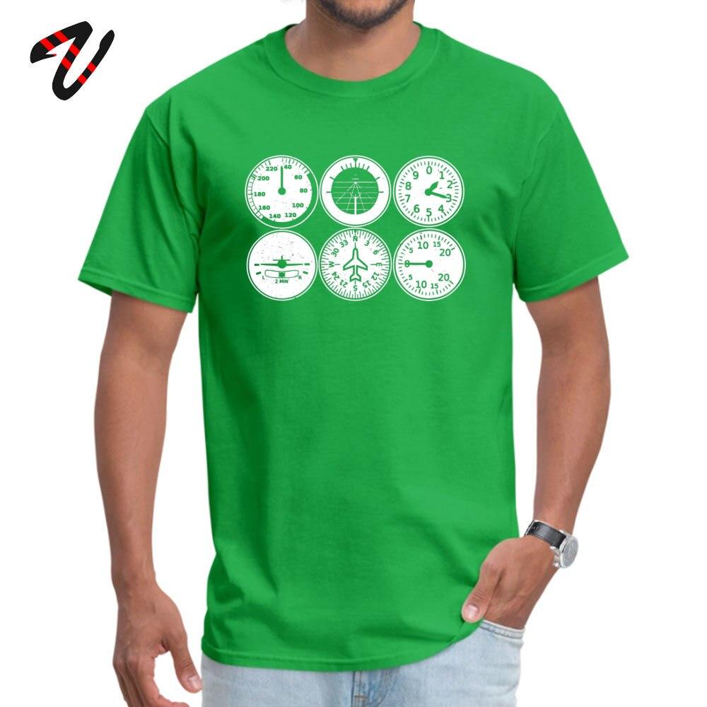 Young Tshirts Custom Funny Tops & Tees Cotton Fabric Crew Neck Short Sleeve Summer T Shirts Summer Top Quality Flight Simulator T shirt - pilot - aircraft -19549 green