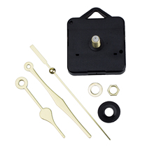 ABKM Hot Simple Quartz Clock Movement Mechanism Gold Hands DIY Repair Parts Kit