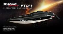 Новый Фэй LUN FT011 2.4 г Racing жестокие Высокая Скорость бесщеточный Motores воды Système de refroidissement 4 Каналы Скорость лодка Рождественский подарок