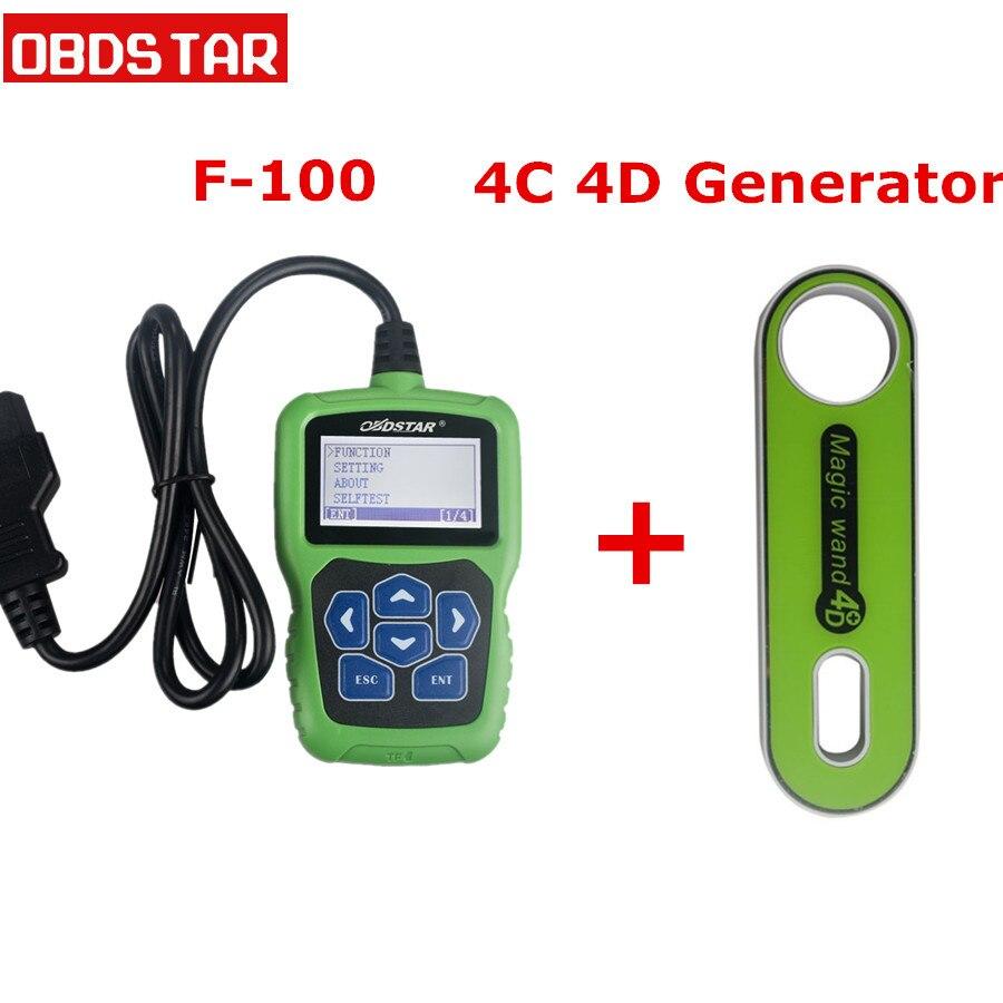 OBDSTAR F 100 for Mazda/Ford Auto Key Programmer No Need Pin