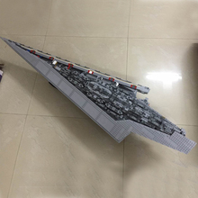 New LEPIN 05028 Star 3208Pcs Toy Wars Execytor Super Star Destroyer Model Building Kit Block Brick Compatible 10221 Boy Gifts