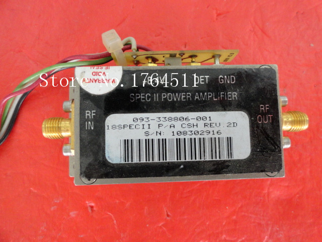 [BELLA] HARRIS 093-338806-001 8.4V SMA Supply Amplifier