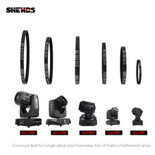 Shehds Lampu Beam Moving Head XY Sumbu Ditutup 2GT Loop Timing Belt Rubber untuk Spot 230 W/350 W /90 W/60 W/30 W Sabuk Sinkron Bagian(China)