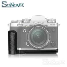 Meike MK-XT3G алюминиевый сплав Вертикальная быстросъемная пластина l-образный кронштейн рукоятка держатель для камеры Fujifilm Fuji X-T3 XT3
