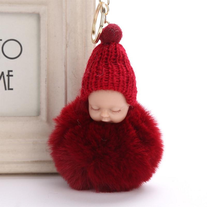 Tronzo 1pcs 15cm Kawaii Simulation Sleeping Baby Plush Keychain Stuffed Baby Soft Toys Gift For Girl Decor Keyring Drop Shipping Woodworking Machinery & Parts